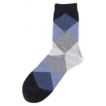 Bonnie Burlington Socken - Navy/Dark Grey/Light Grey
