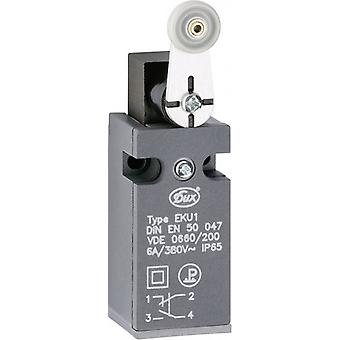Limit switch 380 Vac 6 A Pivot lever momentary Sch