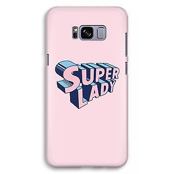 Samsung Galaxy S8 Plus Full Print Case (Glossy) - Super lady