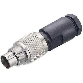 Binder 99-0413-00-05 Series 712 Sub Miniature Circular Connector Nominal current (details): 3 A Number of pins: 5