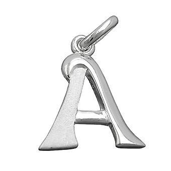 Pendant initial a silver 925