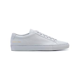 Common projects men's 15287543 grey LEDER sneakers