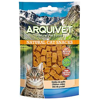 Arquivet Natural Snack for Cats Chicken Dice (Cats , Treats , Eco Products)