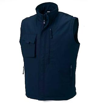 Russell Collection Workwear Mens Hard Wearing Gilet Bodywarmer Jacket