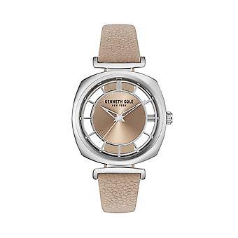Montre montre-bracelet en cuir Kenneth Cole New York féminine KC15108005