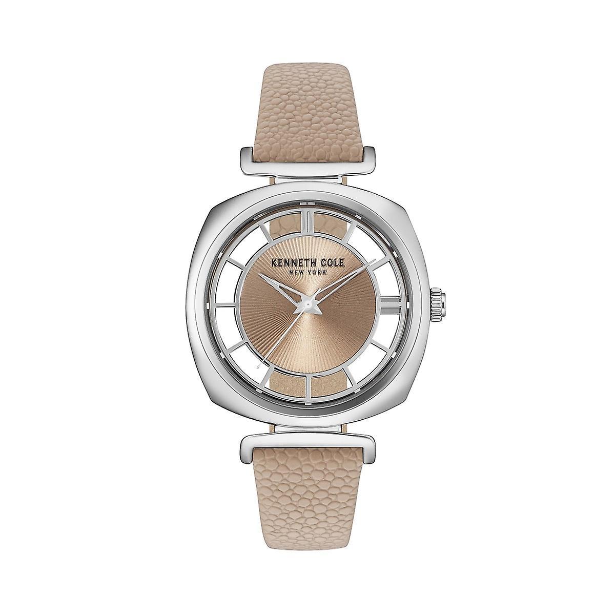 Montre montre-bracelet en cuir Kenneth Cole nouveau York féminine KC15108005