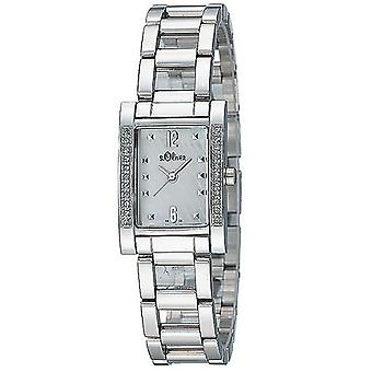 s.Oliver ladies wrist watch analog quartz SO-15007-MQR