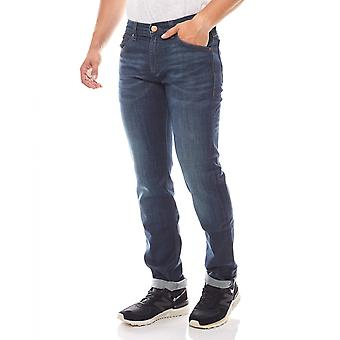 Wrangler mens jeans denim Greensboro dark blue