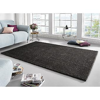 Design high pile carpet Rome anthracite | Shaggy long Fawaz