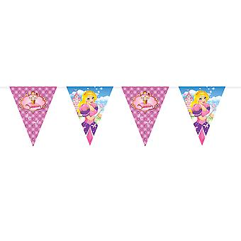 Vimpel Garland de Coquette prinsesse barn partiet bursdag 6 m