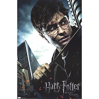 هاري بوتر والأقداس المهلكة-طباعة ملصق هاري