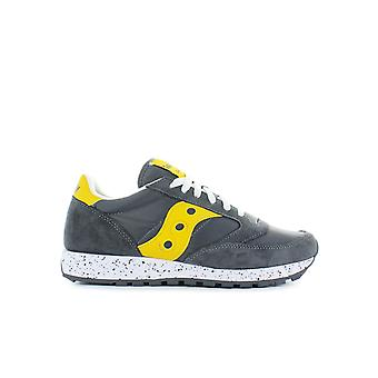 SAUCONY ORIGINALS JAZZ GREY YELLOW SNEAKER