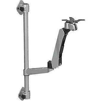 SpeaKa Professional Super Flex monitor holder height adjustable, wall mounting with pneumatic