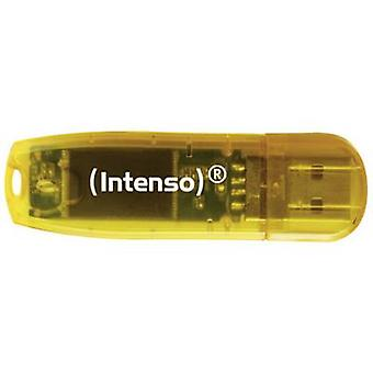 Intenso Rainbow Line USB stick 64 GB Orange (transparent) 3502490 USB 2.0