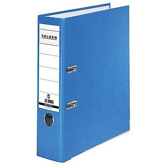 Falken mapp FALKEN Recycolor A4 ryggraden bredd: 80 mm blå 2 fästen 11285673