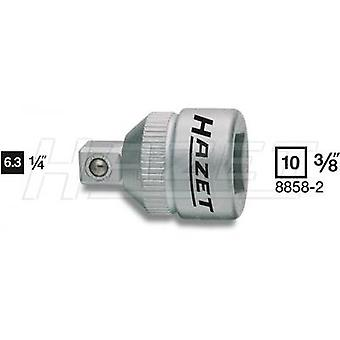 Bit adapter Drive (screwdriver) 3/8 (10 mm) Downforce 1/4 (6.3 mm) 26 mm Hazet 8858-2