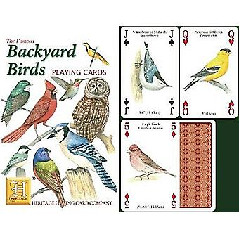 Backyard Birds (North American) Set Of 52 Playing Cards (+ Jokers)