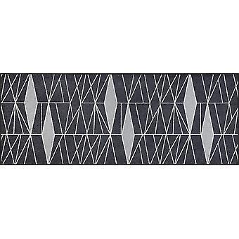 wash + dry dirt mat Ampiezza grey 75 x 190 cm washable floor mat