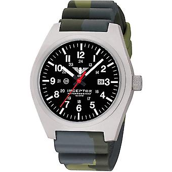 KHS mens watch interceptor steel KHS. INCS. DC3