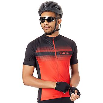 Giro Bright Red Ripper 2017 Chrono Sport Sublimated Short Sleeved Cycling Jersey