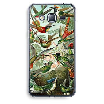 Samsung Galaxy J3 (2016) Transparent Case (Soft) - Haeckel Trochilidae