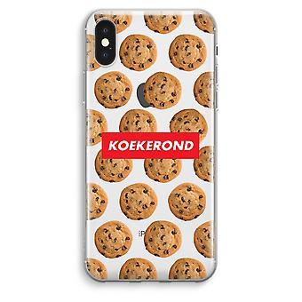iPhone XS Max Transparent Case (Soft) - Koekerond