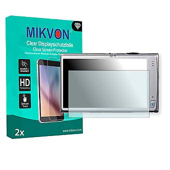 Canon Digital IXUS 240 HS Screen Protector - Mikvon Clear (Retail Package with accessories)