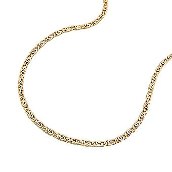 45 cm chain S tanks 1, 2 mm 14Kt GOLD
