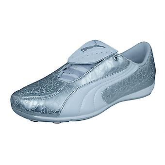 Puma V Konstrukt II Trainer Womens Football Trainers - Silver