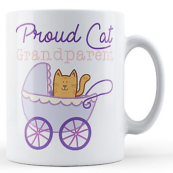 Gato orgulloso abuelo - taza impresa