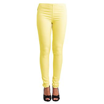 Pieces Foxy Light Yellow Leggings
