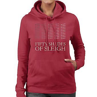 Christmas Fifty Shades Of Sleigh Women's Hooded Sweatshirt