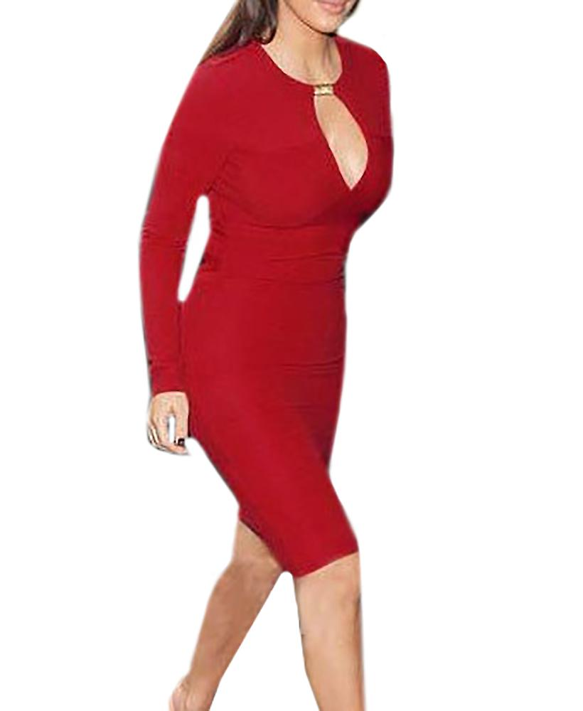 Waooh - Fashion - Dress slinky long sleeves