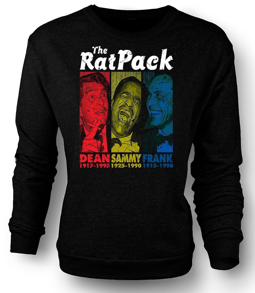 Sudadera para hombre Rat Pack - Dean Martin - Sammy - Frank Sinatra