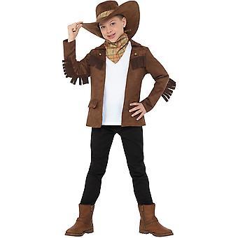 Sheriff Junge Kinderkostüm Cowboy Wilder Westen Gesetzeshütter