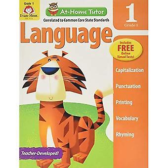 At-Home Tutor Language, Grade 1
