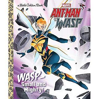 WASP: Liten och mäktig! (Marvel Ant-Man och geting) (Liten gyllene bok)