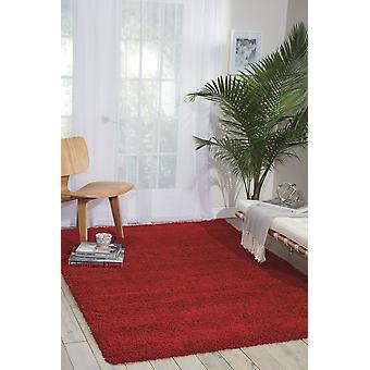 Amore 01 rot Rechteck Teppiche Plain/fast nur Teppiche