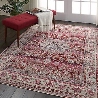 Vintage Kashan VKA01 rotes Rechteck Teppiche traditionelle Teppiche