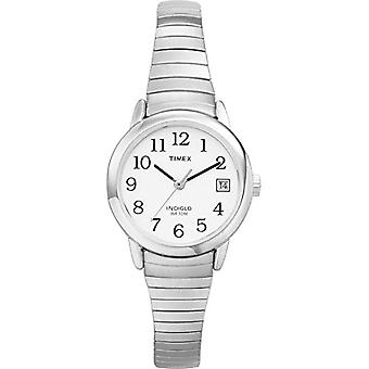 Timex women's T2H371 Classic stainless steel Analog wristwatches, silver