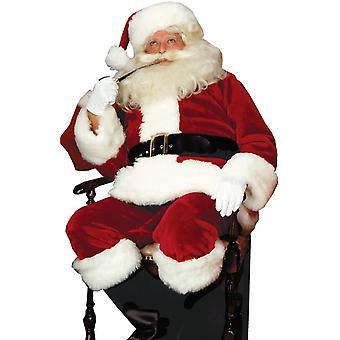 Königliche Santa Erwachsenen Kostüm