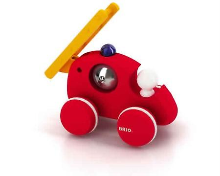 BRIO Push Along Fire Truck 30197