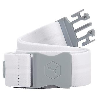PUMA youth UltraLite stretch children belt bright white