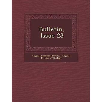 النشرة العدد 23 بمسح & فيرجينيا الجيولوجية