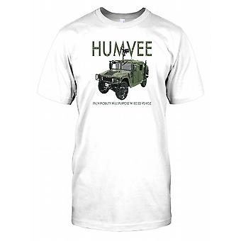 Humvee - High Mobility Multipurpose Wheeled Vehicle Mens T Shirt