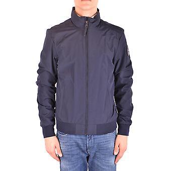 Napapijri Blue Nylon Outerwear Jacket