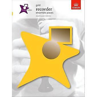 Music Medals Gold Recorder Ensemble Pieces - 9781860966057 Book