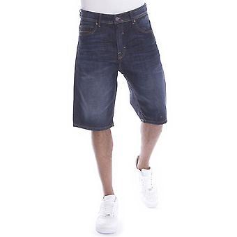Pelle Pelle Buster Denim Shorts Antique Blue