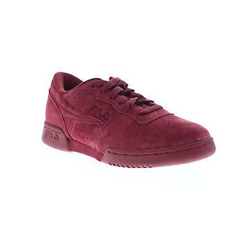 Fila original fitness Premium Herre rød ruskind casual Low top sneakers sko