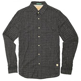 Scotch & Soda Overcheck Shirt, Blue